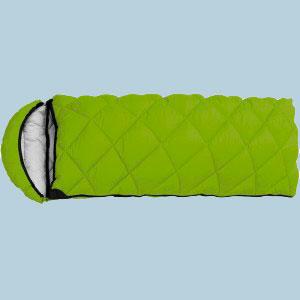 """Спальный мешок Кемпинг """"Peak"""" с капюшоном Green"""
