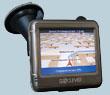 Автомобильный GPS навигатор GoClever 3550A + карта
