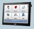 Автомобильный GPS навигатор Mio C725