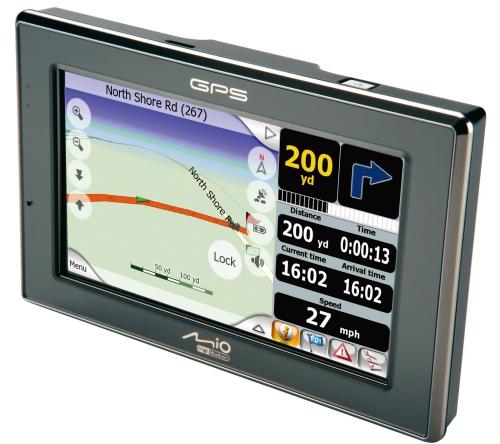 Gps навигатор mio c520